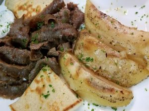 Gyro with Potatoes